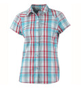 Columbia Women's Silver Ridge Multi Plaid S/S Shirt geyser plaid